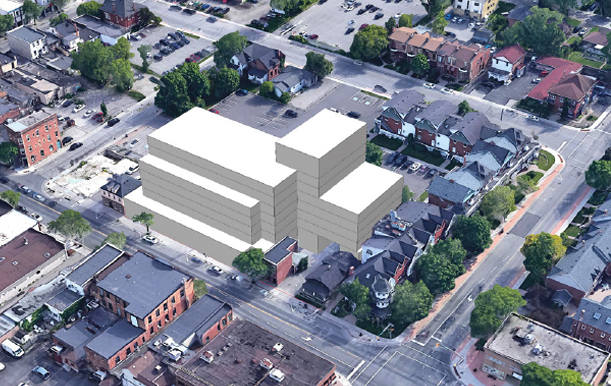 the Cacoeli Whitby building one of the assets under management by the Cacoeli real estate investing company